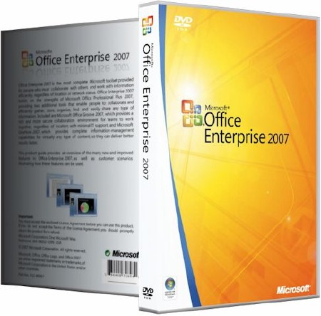 Microsoft Office 2007 Enterprise + Visio Premium + Project Pro + SharePoint